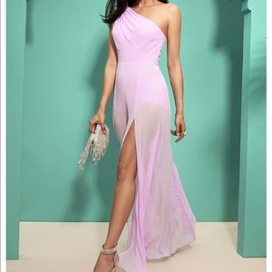 Lavender Guess Marciano Delise Maxi Gown Chiffon